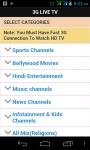 3G Live Tv Free screenshot 6/6