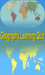 Geography Learning Quiz screenshot 1/1