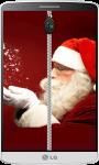 Santa Claus Zipper Lock Screen screenshot 1/4