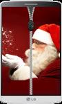 Santa Claus Zipper Lock Screen screenshot 2/4