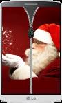Santa Claus Zipper Lock Screen screenshot 3/4