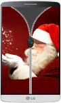 Santa Claus Zipper Lock Screen screenshot 4/4