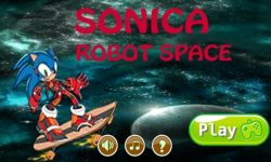 Sonica Robot Space Game screenshot 1/6