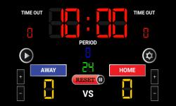 Basketball Scoreboard HD screenshot 2/4