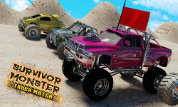 Survivor Monster Truck Match game screenshot 2/5