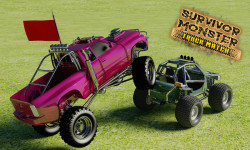 Survivor Monster Truck Match game screenshot 3/5