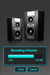 Audio Volume Booster Android screenshot 1/2