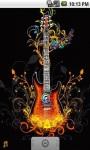 Abstract Guitar Live Wallpaper screenshot 1/5