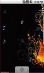 Abstract Guitar Live Wallpaper screenshot 2/5