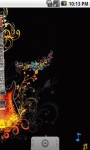 Abstract Guitar Live Wallpaper screenshot 3/5