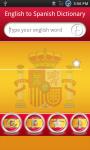 English to Spanish dictionary screenshot 1/6
