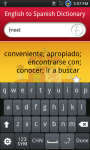 English to Spanish dictionary screenshot 3/6