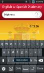 English to Spanish dictionary screenshot 4/6