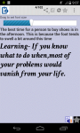 Life Management Learning screenshot 3/4
