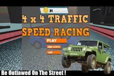 4x4 Traffic Speed Racing screenshot 1/3