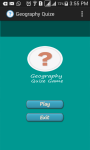 Geography  Trivia screenshot 1/4