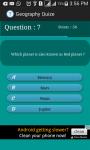Geography  Trivia screenshot 4/4