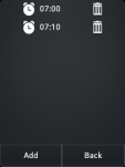 Talkin Alarm Clock screenshot 2/2