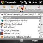 YomoMedia - RSS Mobile Media Feed Reader screenshot 1/1