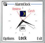 InfoTime Alarm Clock screenshot 1/1