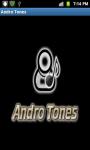 Andro Tones - Free screenshot 1/4