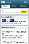 Yahoo! Cricket screenshot 1/1