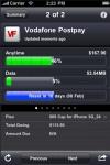 Vodafone compatible Mobile and Broadband usage screenshot 1/1