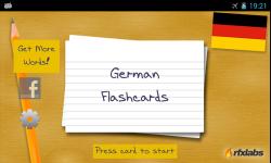 A German Flashcards App screenshot 1/4