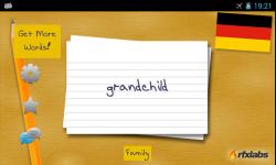 A German Flashcards App screenshot 2/4