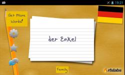 A German Flashcards App screenshot 3/4