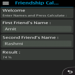 Friendship Meter Free screenshot 1/2