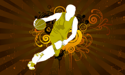 Basket Ball Style Action Cool Wallpaper screenshot 1/4