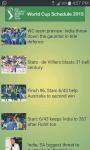 Live - ICC Cricket World Cup 2015 screenshot 4/4