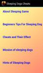 Sleeping Dogs Cheats N Strategy screenshot 3/3