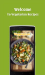Vegetarian Food recipes free screenshot 1/4