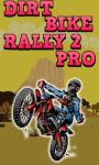 Dirt Bike Rally 2 Pro screenshot 1/1