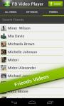 FB Video Player Free screenshot 2/3