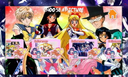 Sailor moon Puzzle screenshot 2/5