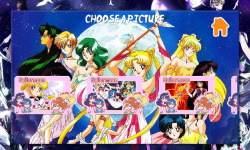 Sailor moon Puzzle screenshot 3/5