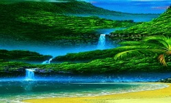 Green Nature Live Wallpaper screenshot 2/3