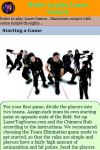 Rules to play Laser Games  screenshot 3/3