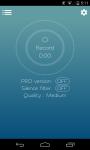 Voice Recorder Korrisoft screenshot 1/6