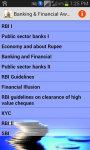 Banking And Financial Awareness screenshot 1/2