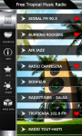 Free Tropical Music Radio screenshot 2/6