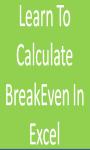 Calculate BreakEven screenshot 1/1