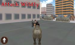 wild rhino city destroyer screenshot 3/5