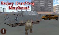 wild rhino city destroyer screenshot 5/5