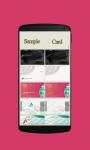 Make visiting card screenshot 1/4