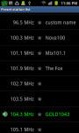 ScreenFree FM Radio screenshot 1/4