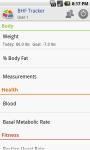 BHF Tracker screenshot 3/5